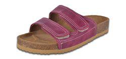 Barea Dievčenské ortopedické papuče - tmavo ružovej, EUR 33