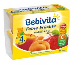 Bebivita Jemná ovocná zmes 4x100g