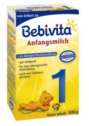 Bebivita Mlieko 1 Instantná počiatočná mliečna dojčenská výživa od narodenia - NOVINKA 5x500g