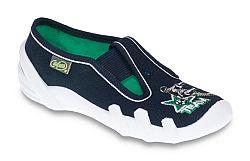 Befado Chlapčenské papučky s futbalistom Skate - tmavo modré, EUR 25