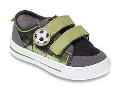 Befado Chlapčenské tenisky s futbalovou loptou - zeleno-šedé, EUR 28