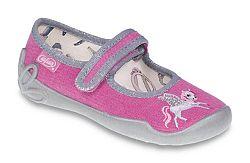 Befado Dievčenské balerínky s koníkom Blanca - ružové, EUR 30