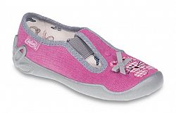 Befado Dievčenské papučky s mačičkou Blanca - ružové, EUR 28