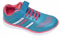 Befado Dievčenské športové tenisky - ružovo-tyrkysové, EUR 27