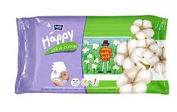 Bella Happy baby čistiace obrúsky hodváb a bavlna 4x64 ks
