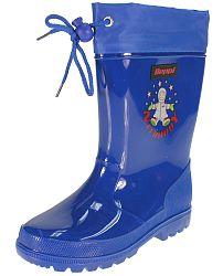 Beppi Chlapčenské čižmy s astronautom - modré, EUR 29