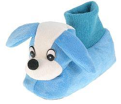 Beppi Chlapčenské plyšové papučky Psík - modré, EUR 26