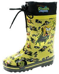Beppi Detské zateplené gumáky SpongeBob - žlté, EUR 30