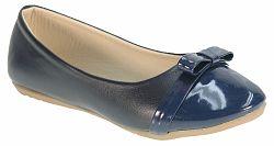 Beppi Dievčenské balerínky s lakovanou špičkou - tmavo modré, EUR 35