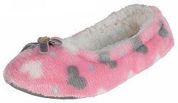 Beppi Dievčenské papučky so srdiečkami - ružové, EUR 32