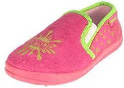 Beppi Dievčenské svietiace papučky - ružové, EUR 34