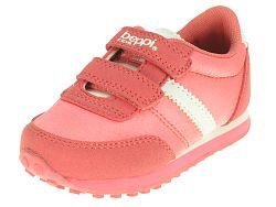 Beppi Dievčenské tenisky s prúžkom - ružové, EUR 24