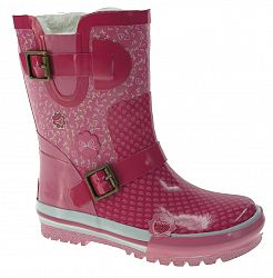 Beppi Dievčenské zateplené gumáky- ružové, EUR 32