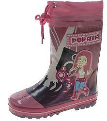 Beppi Dievčenské zateplené gumáky so speváčkou - ružové, EUR 34