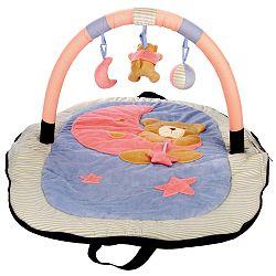 Bino Cestovná hracia deka - medvedík