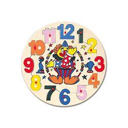 Bino Puzzle hodiny s klaunom