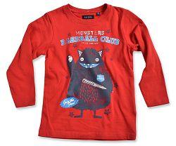 Blue Seven Chlapčenské tričko Baseball club - červené, 98 cm