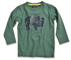Blue Seven Chlapčenské tričko Buffalo - tmavo zelené, 116 cm