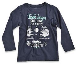 Blue Seven Chlapčenské tričko College - tmavo modré, 104 cm