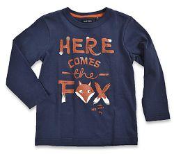 Blue Seven Chlapčenské tričko Fox - tmavo modré, 92 cm