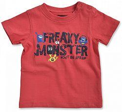 Blue Seven Chlapčenské tričko Freaky - červené, 80 cm