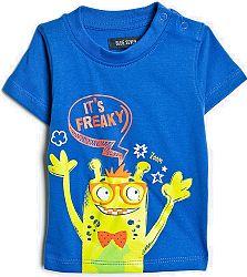 Blue Seven Chlapčenské tričko Freaky - modré, 68 cm