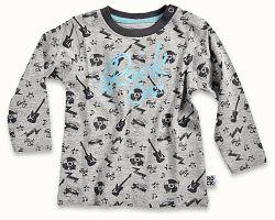 Blue Seven Chlapčenské tričko Rock on - farieb, 74 cm