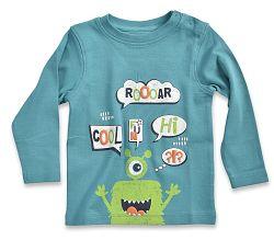 Blue Seven Chlapčenské tričko Roooar - modré, 80 cm