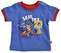 Blue Seven Chlapčenské tričko Soap Box - modré, 68 cm