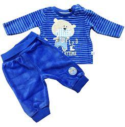 Blue Seven Chlapčenský dvojkomplet Funny playtime - modrý, 62 cm