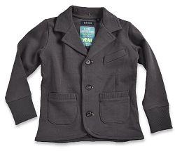 Blue Seven Chlapčenský kabátik - tmavosivý, 104 cm