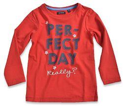 Blue Seven Detské tričko Perfect day - červené, 110 cm