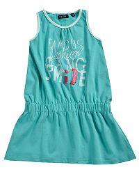 Blue Seven Dievčenské šaty Famous - zelenomodré, 104 cm