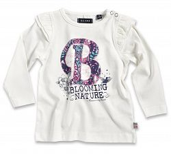 Blue Seven Dievčenské tričko B - biele, 62 cm