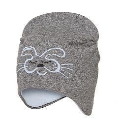 dafcf1f44 Broel Dievčenská čiapka s líškou - béžová, 39 cm | BabyRecenzie.sk