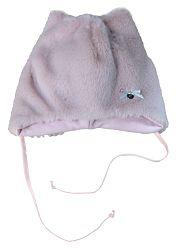 Broel Dievčenská čiapka Dafi - svetlo ružová, 47 cm