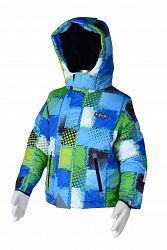 Bugga Chlapčenská lyžiarska bunda - farebná, 110 cm