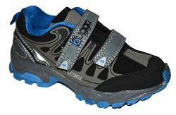 Bugga Chlapčenská softshellová obuv - modro-šedá, EUR 38