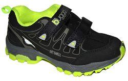 Bugga Chlapčenská softshellová obuv - žlto-čierna, EUR 34