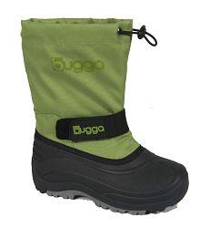 Bugga Chlapčenské snehule - zeleno-čierne 4930ae6552