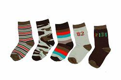Bugga Chlapčenský set 5 párov ponožiek - farebný, EUR 19