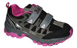 Bugga Dievčenská softshellová obuv - ružovo-šedá, EUR 34