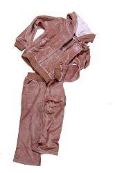 Bugga Dievčenská tepláková súprava - hnedá, 98 cm