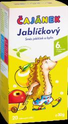 Čajánek ČAJÁNEK - JABĹČKOVÝ porc. 20x1,5g