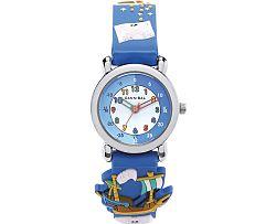 Cannibal Chlapčenské hodinky s loďou - modré