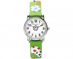Cannibal Chlapčenské hodinky s loptou - zelené