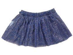 Carodel Dievčenská nariasená sukňa - modrá, 98 cm