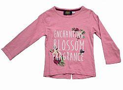 Carodel Dievčenské tričko s rozparkom - ružové, 92 cm
