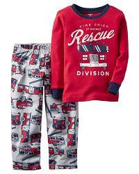 Carter's Chlapčenské pyžamo Rescue - farebné, 80 cm