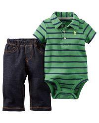 Carter's Chlapčenský dojčenský komplet - farebný, 80 cm